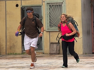 The Amazing Race 'We Was Robbed' - Trey and Lexi