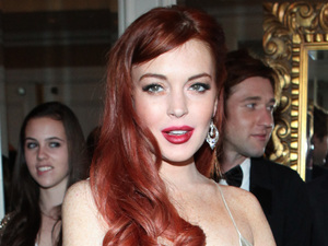 Lindsay Lohan arrives at the premiere of &#39;Liz and Dick&#39; at the Beverly Hills HotelFeaturing: Lindsay Lohan