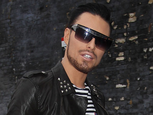 Rylan Clark The X Factor finalists leave the rehearsal studios to head to Eurodisney London, England - 12.11.12 Credit Mandatory: WENN.com
