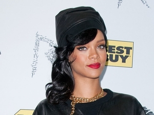 Rihanna at her 'Unapologetic' record launch release and fan meet and greet at Best Buy Theater. New York City, USA - 20.11.12 Mandatory Credit: Ivan Nikolov/WENN.com