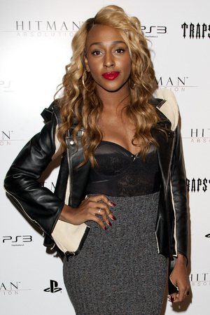 Alexandra Burke at Trapstar x Hitman event in Shoreditch, London