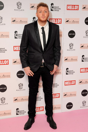 James Arthur, Amy Winehouse Foundation Ball in London