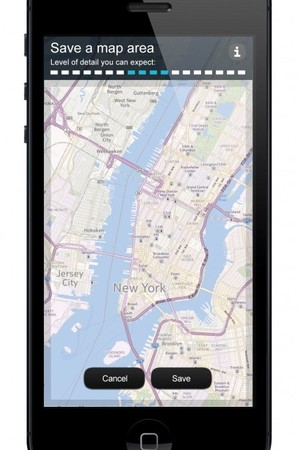Nokia&#39;s HERE maps app on iOS