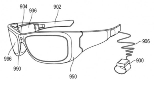Microsoft Augmented Reality technology patent
