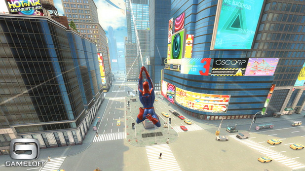 'The Amazing Spider-Man' mobile game still