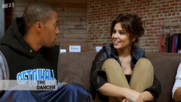 Cheryl Cole and Tre Holloway from Cheryl: Access All Areas