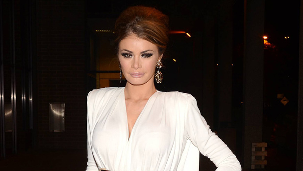 Chloe Sims leaves the RTE Studios for 'The Saturday Night Show'