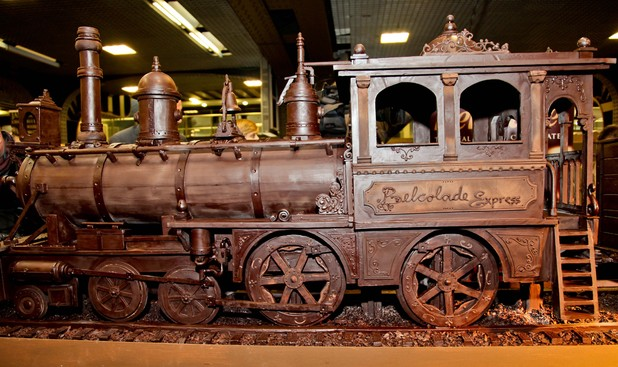 World's longest chocolate train