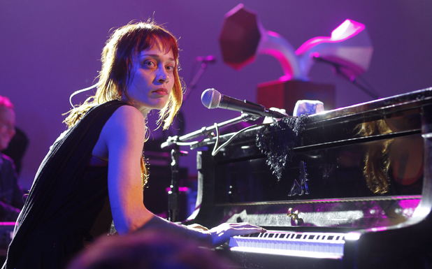 Fiona Apple performing at the NPR showcase during the SXSW Music Festival in Austin, Texas.