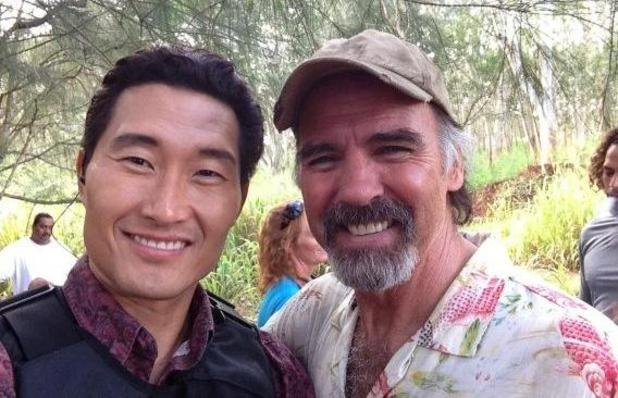 Daniel Dae Kim and Jeff Fahey