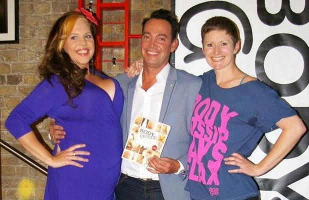 Body Gossip girls Natasha Devon and Ruth Rogers with Craig Revel-Horwood