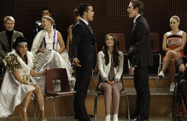 Glee S04E07: Dynamic Duets