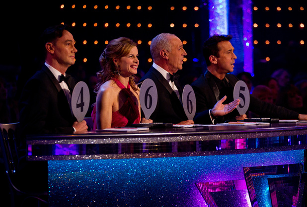 Strictly Come Dancing Week 8: The judges.