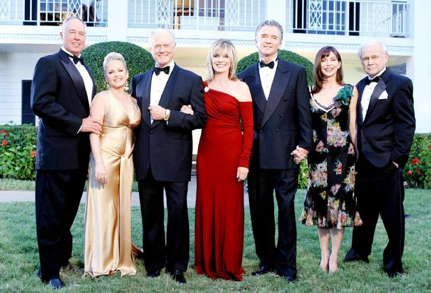 The original cast reunite for the TV special Dallas Reunion: Return To Southfork