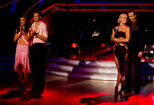 Strictly Come Dancing: Victoria and Michael are in the bottom two.