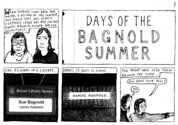 &#39;Days of the Bagnold Summer&#39; artwork