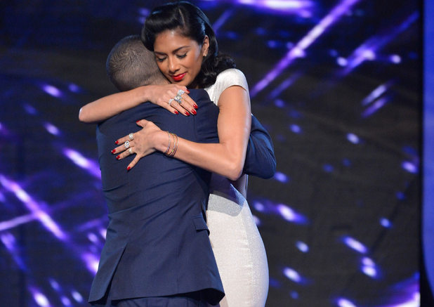 The X Factor Results Show: Nicole and Jahmene