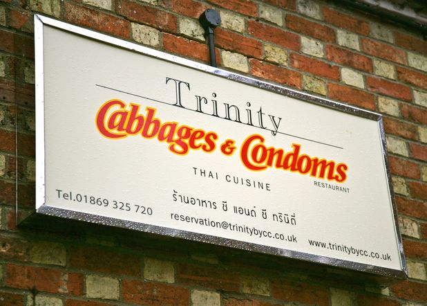 'Cabbages & Condoms' restaurant