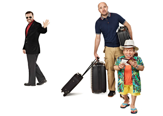 An Idiot Abroad 3 promotional pictures