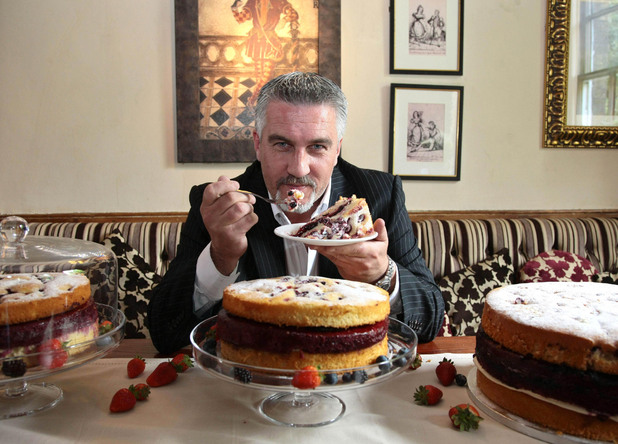 Paul Hollywood, Vintage Inns Vintage Summer Cake launch (2012)