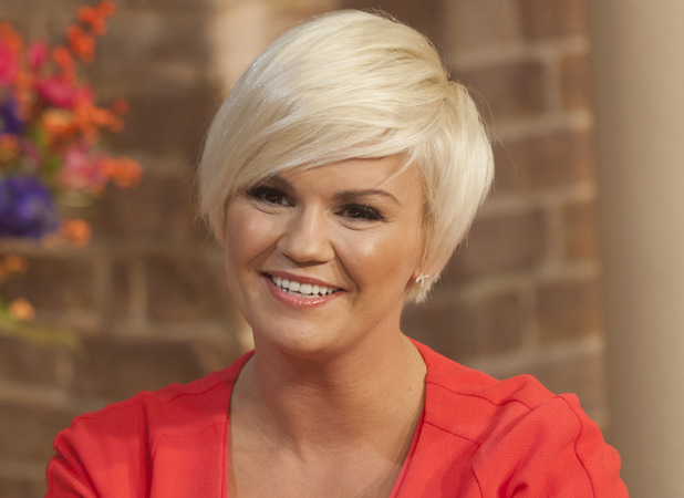 Kerry Katona appears on This Morning 21 November 2012