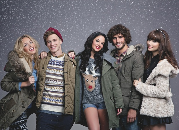 Miss Mode: Tulisa for Bank's Christmas Campaign