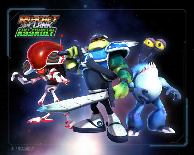 'Ratchet & Clank: Full Frontal Assault' promotional image