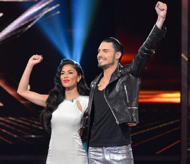 The X Factor Results Show: Rylan and Nicole