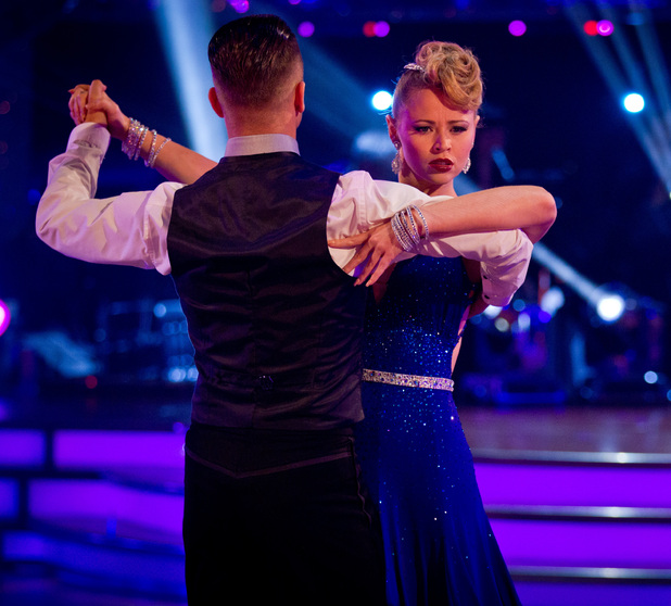 Strictly Come Dancing Week 8: Kimberley and Pasha