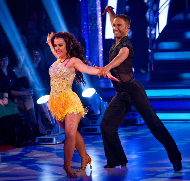Strictly Come Dancing Week 8: Dani and Vincent.