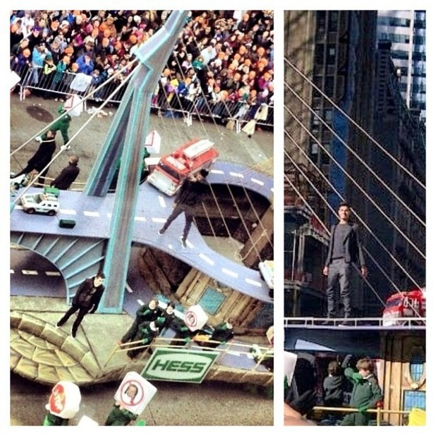 The Wanted perform at the Macy's Thanksgiving Day Parade