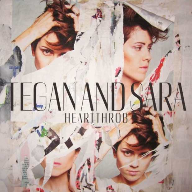 Tegan and Sara &#39;Heartthrob&#39; album artwork.