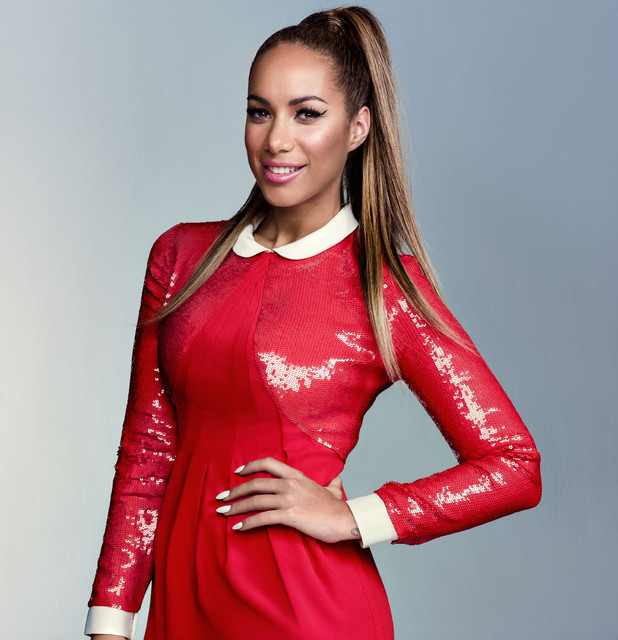 Leona Lewis poses in 'Look' Magazine.