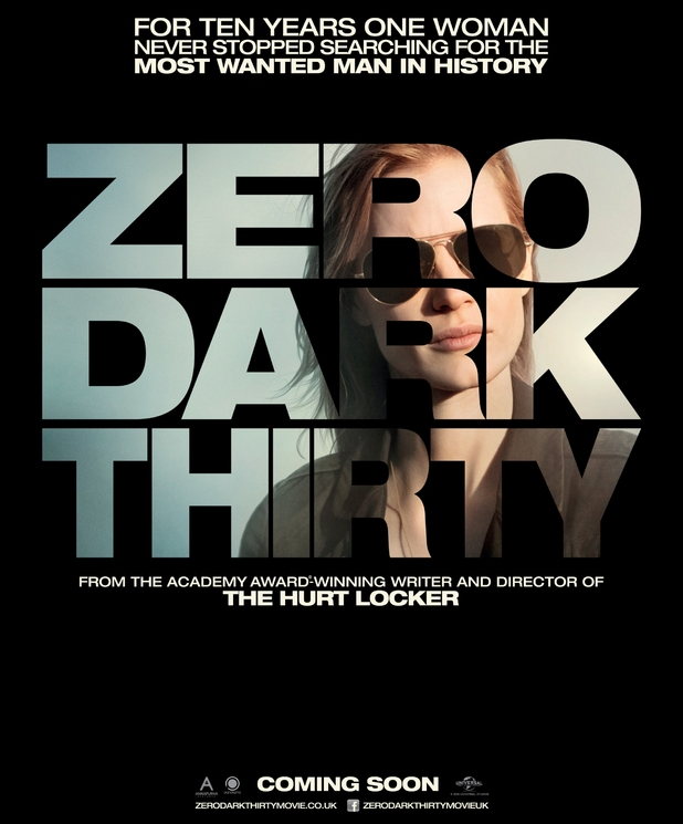 'Zero Dark Thirty'  poster