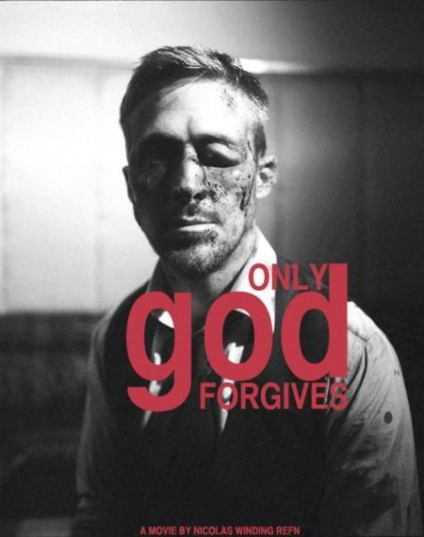Ryan Goslin in 'Only God Forgives' poster