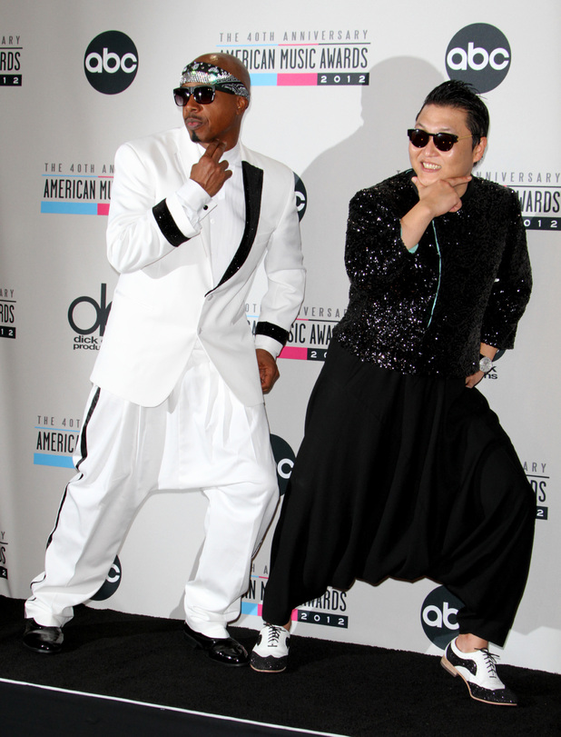 Psy with MC Hammer