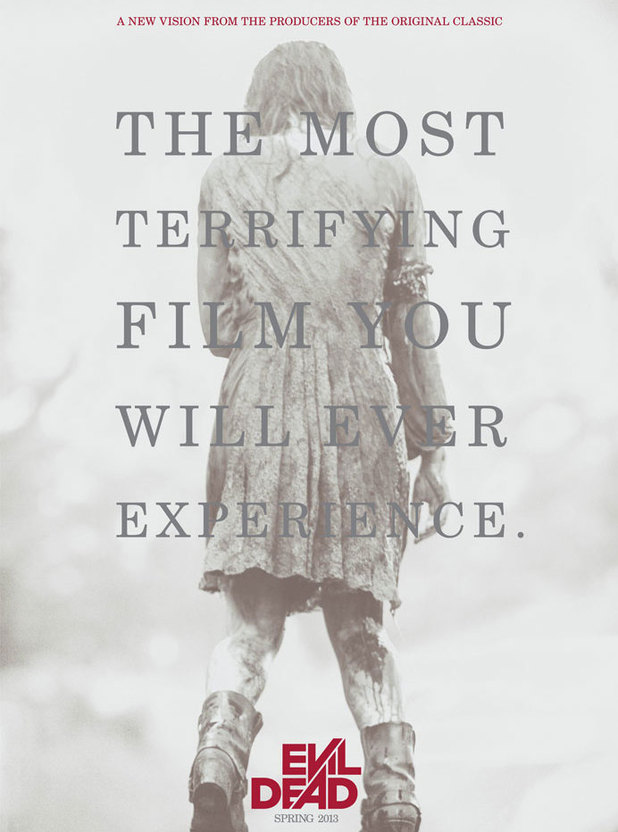 The 'Evil Dead' movie poster