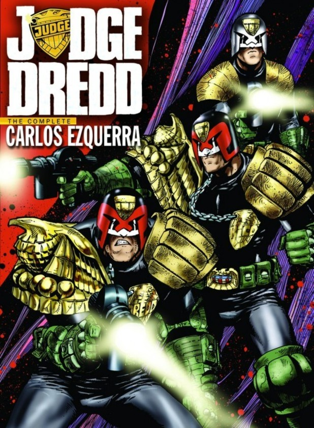 'Judge Dredd: The Complete Carlos Ezquerra' cover