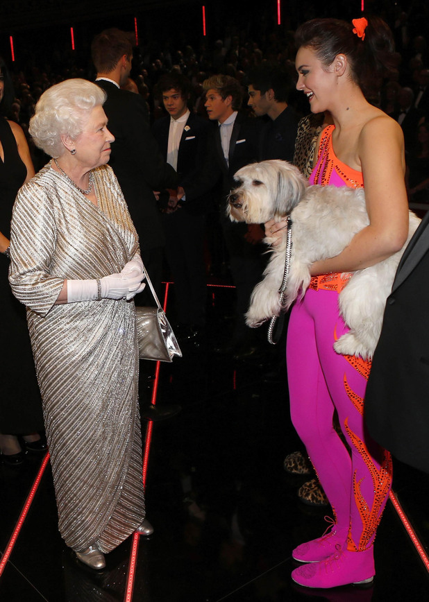 The Queen, Pudsey, Ashleigh Butler