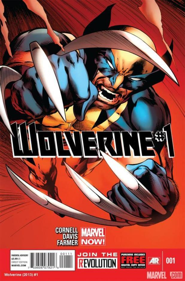 Marvel NOW! Wolverine #1 cover
