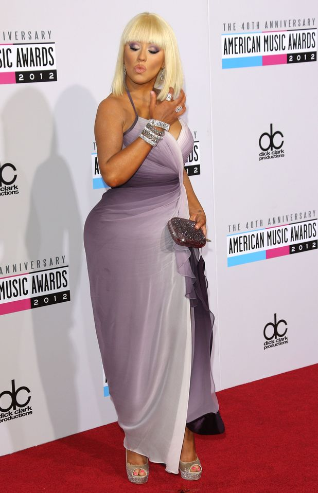 Christina Aguilera, 40th Anniversary American Music Awards