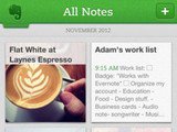 'Evernote' screenshot