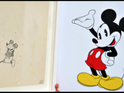 The 1928 sketch by Ub Iwerks is shown to mark the Epic Mickey 2 release.