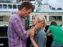 The new clip shows Julianne Hough and Josh Duhamel talking in the sand.