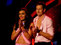 The Olympic cyclist and Brendan Cole lose out to Michael Vaughan and Natalie Lowe.