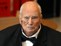 Sir Patrick Moore is honored by famous friends on Twitter.