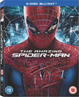 'The Amazing Spider-Man' blu-ray pack shot