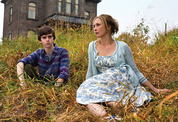First look at 'Bates Motel' starring Freddie Highmore and Vera Farmiga