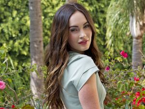 Megan Fox at This Is 40' film photocall, Los Angeles, America - 28 Nov 2012
