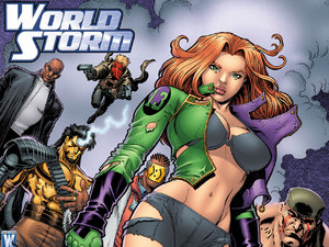 'WorldStorm' artwork